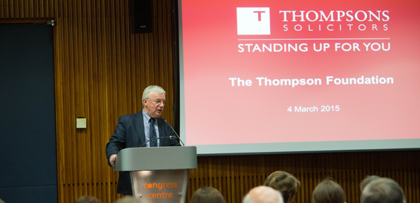 the thompsons foundation presentation thompsons solicitors