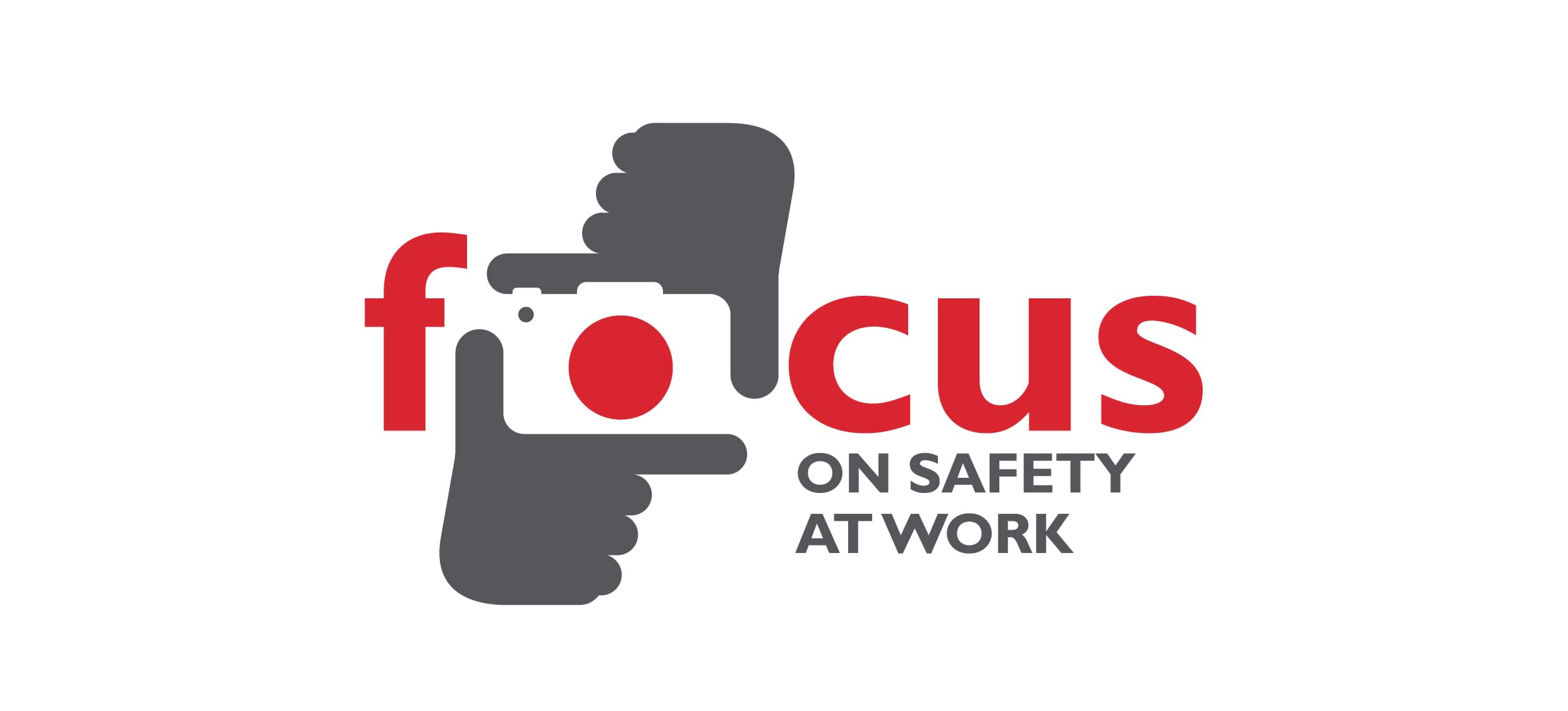 focus on safety at work workers memorial day photography competition logo