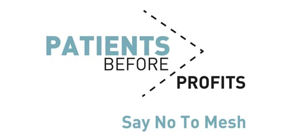 Patients Before Profits Say No To Mesh